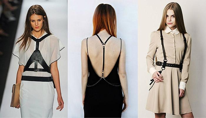 Как называются ремни на платье